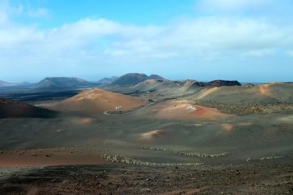 Lanzarote Volcanoes, Spain